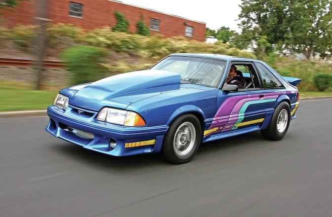 1990 Ford Mustang Gt Flashback Fox