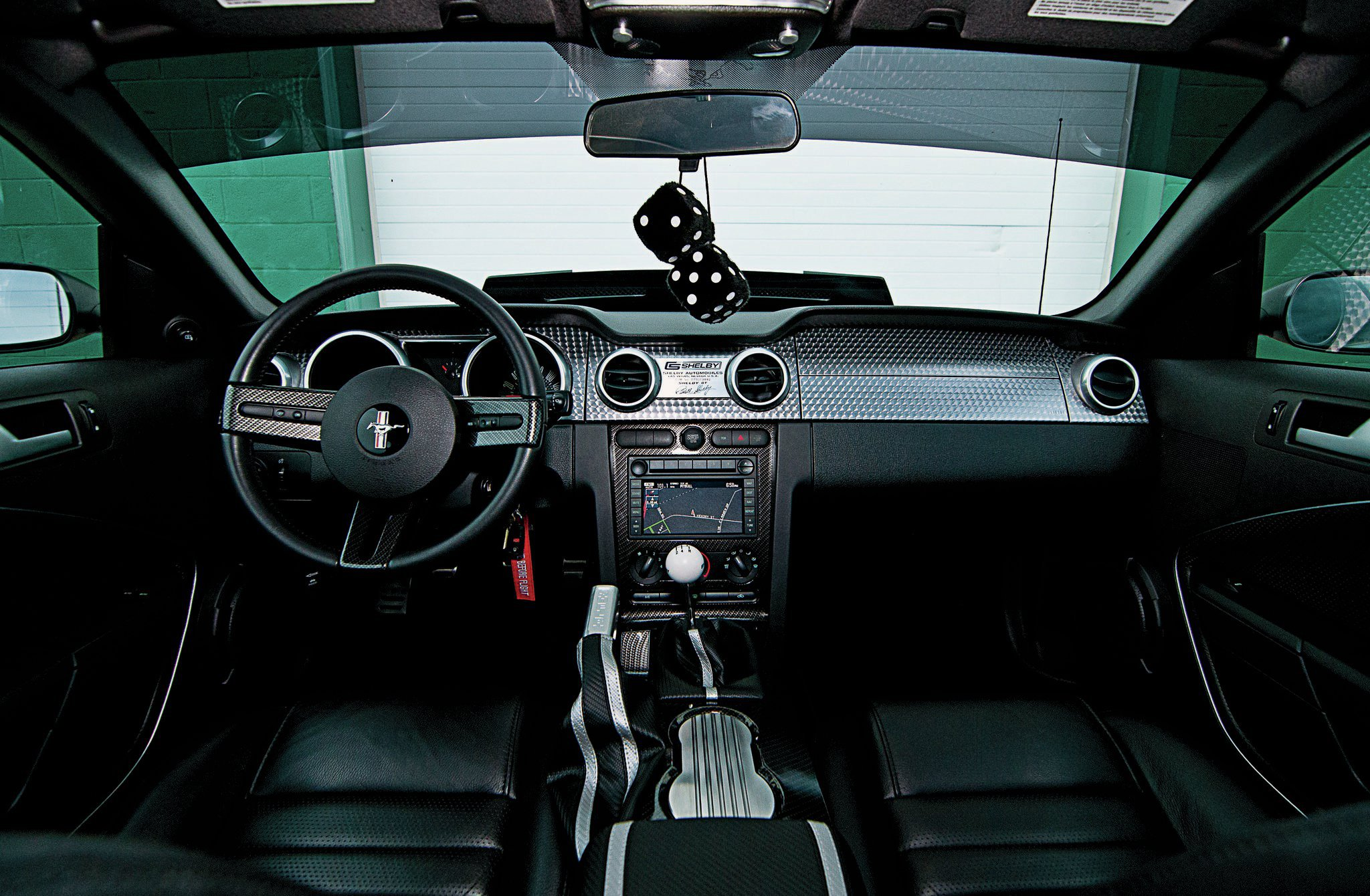 2007 Ford Mustang Shelby Gt Interior Dash