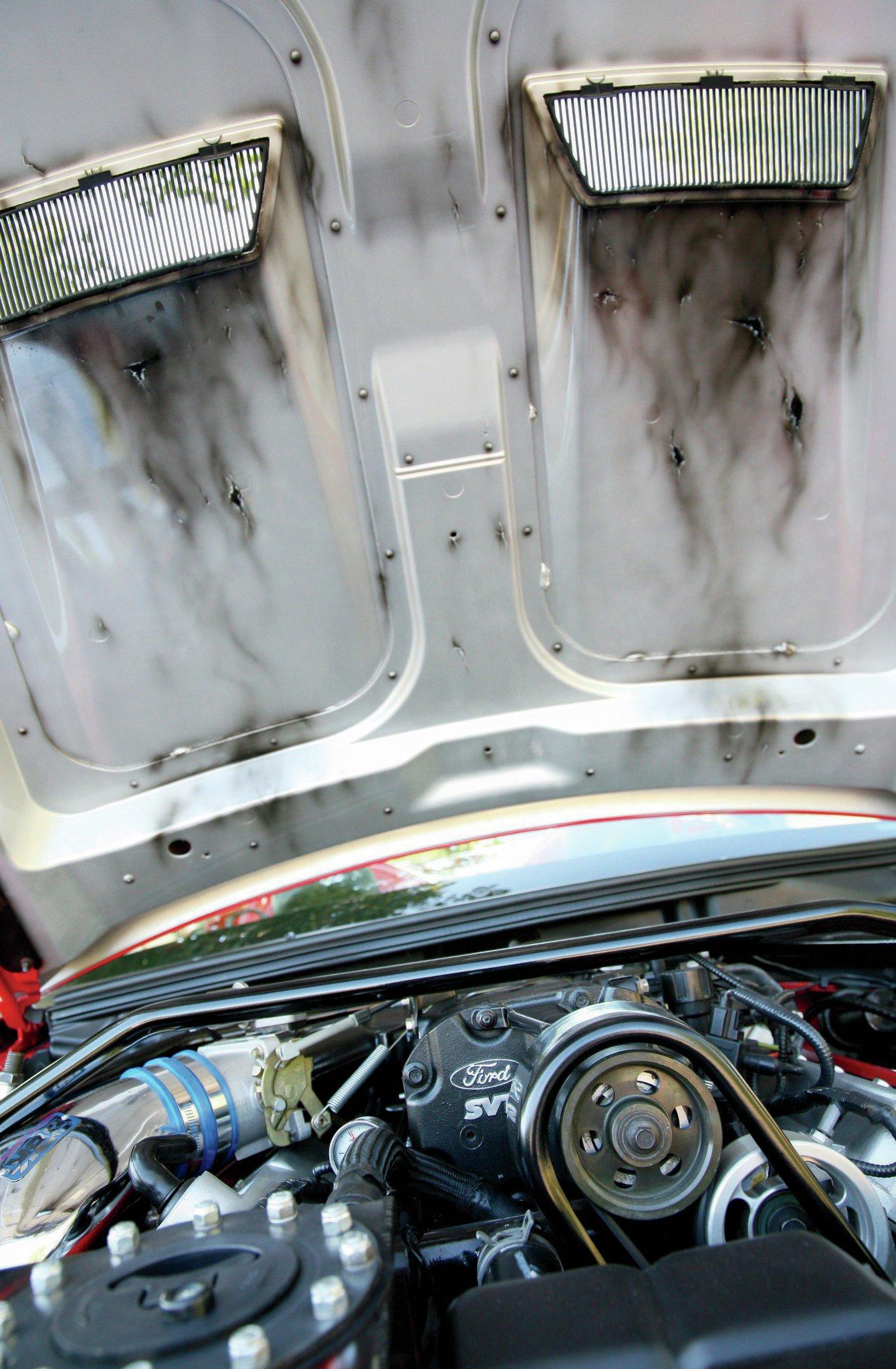 2003 Ford Mustang Cobra Hood
