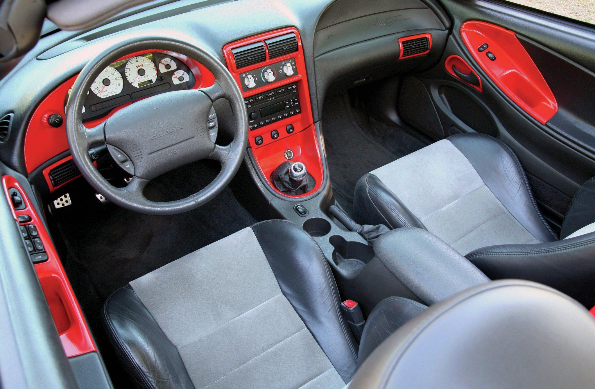 2003 Ford Mustang Cobra Interior