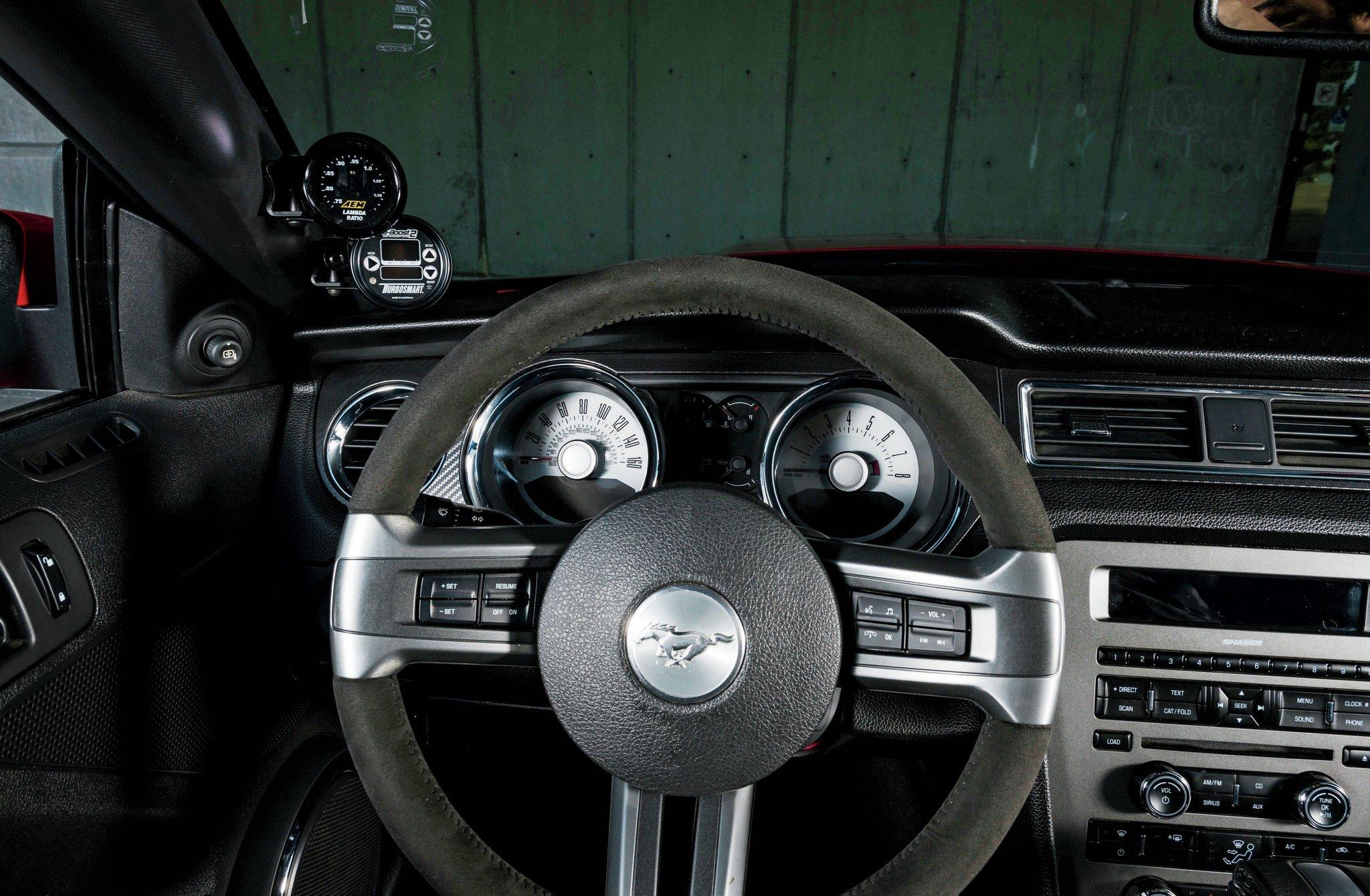 2011 Ford Mustang Gt Steering Wheel