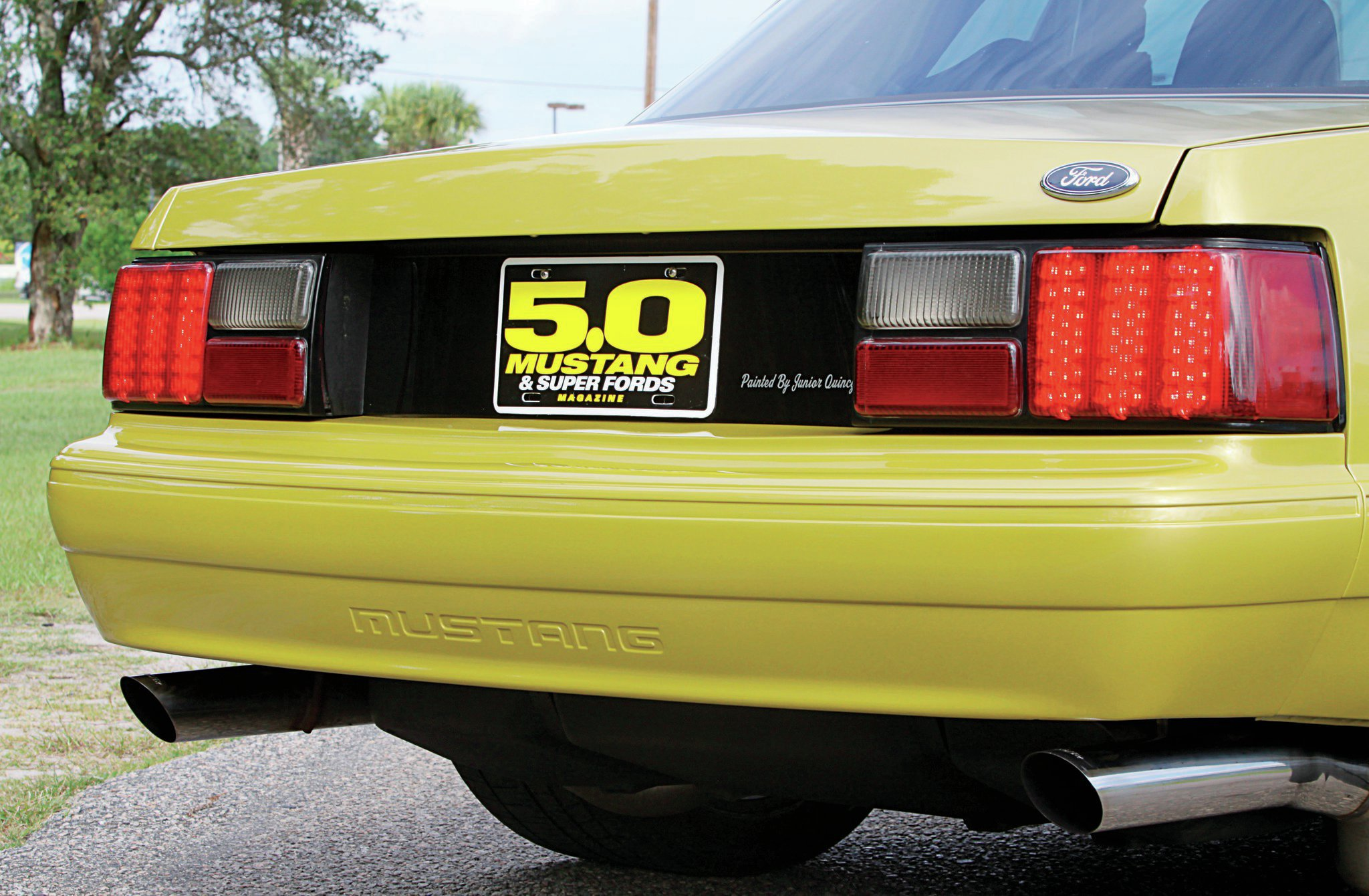 1987 Ford Mustang Lx Coupe Taillights