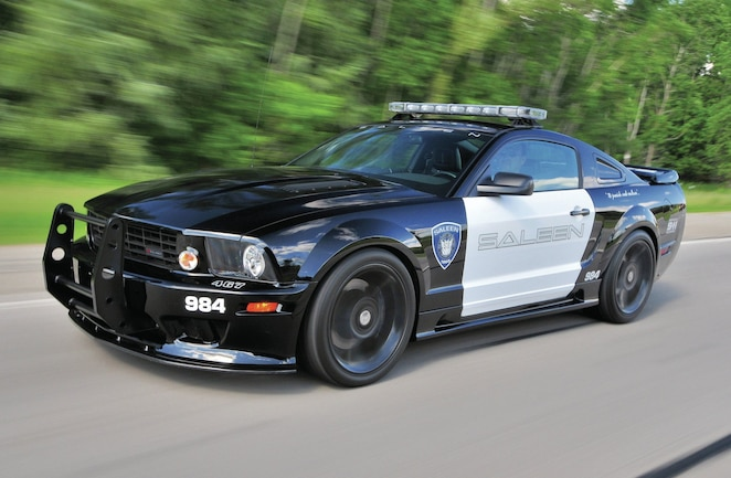 2007 Ford Mustang Side View Motion