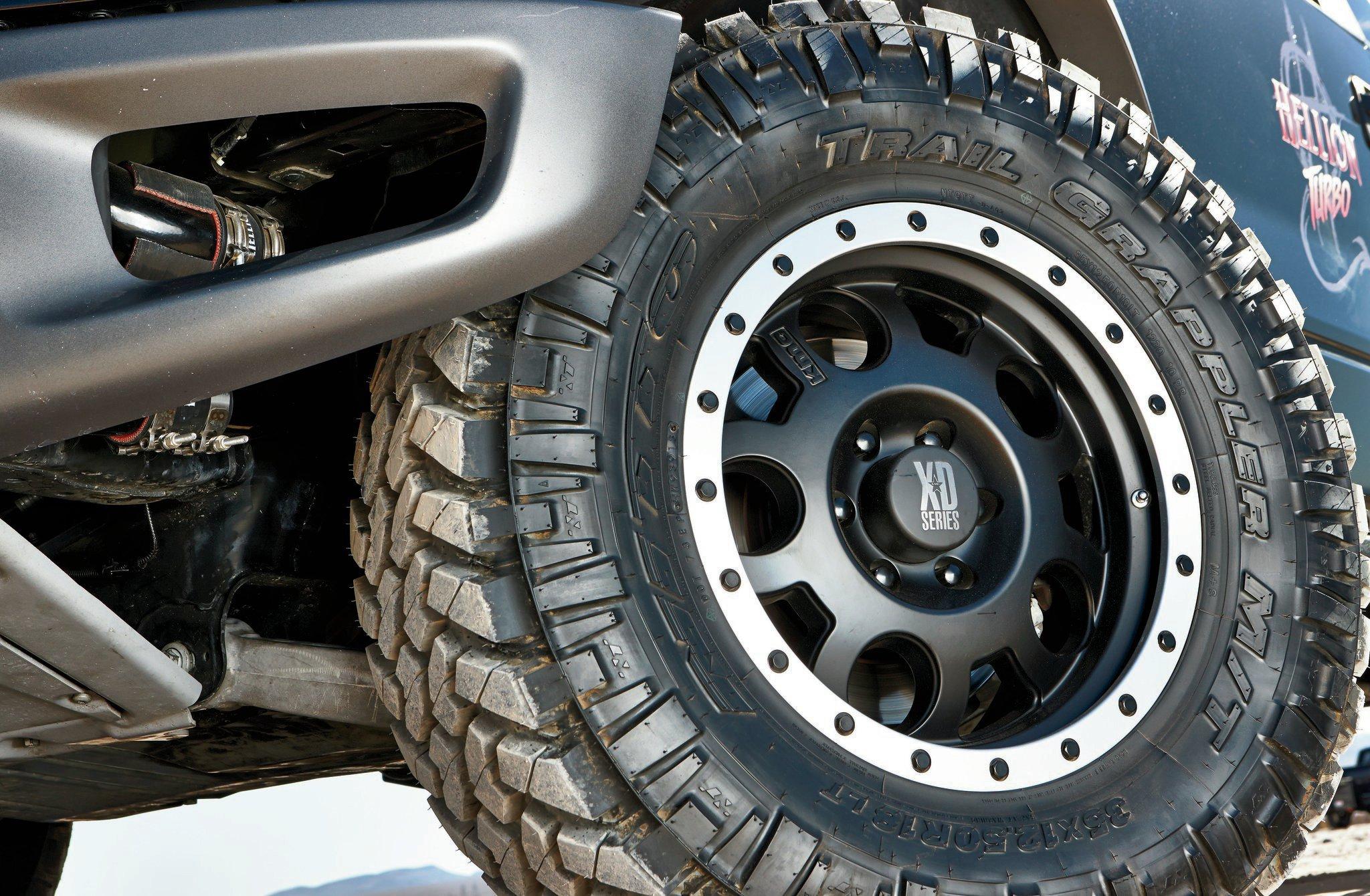 2011 Ford Svt Raptor Trail Grappler Tire