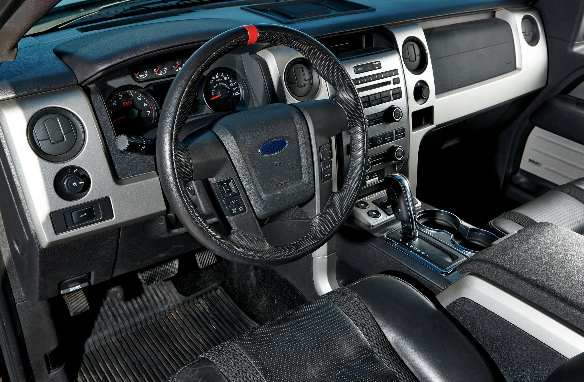 2011 Ford Svt Raptor Interior
