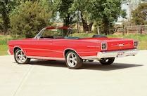 1966 Ford Galaxie Rear View