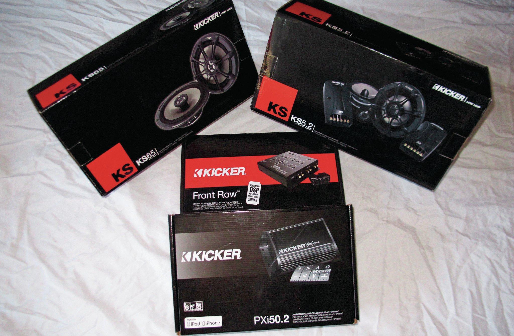 Kicker Audio System Gear