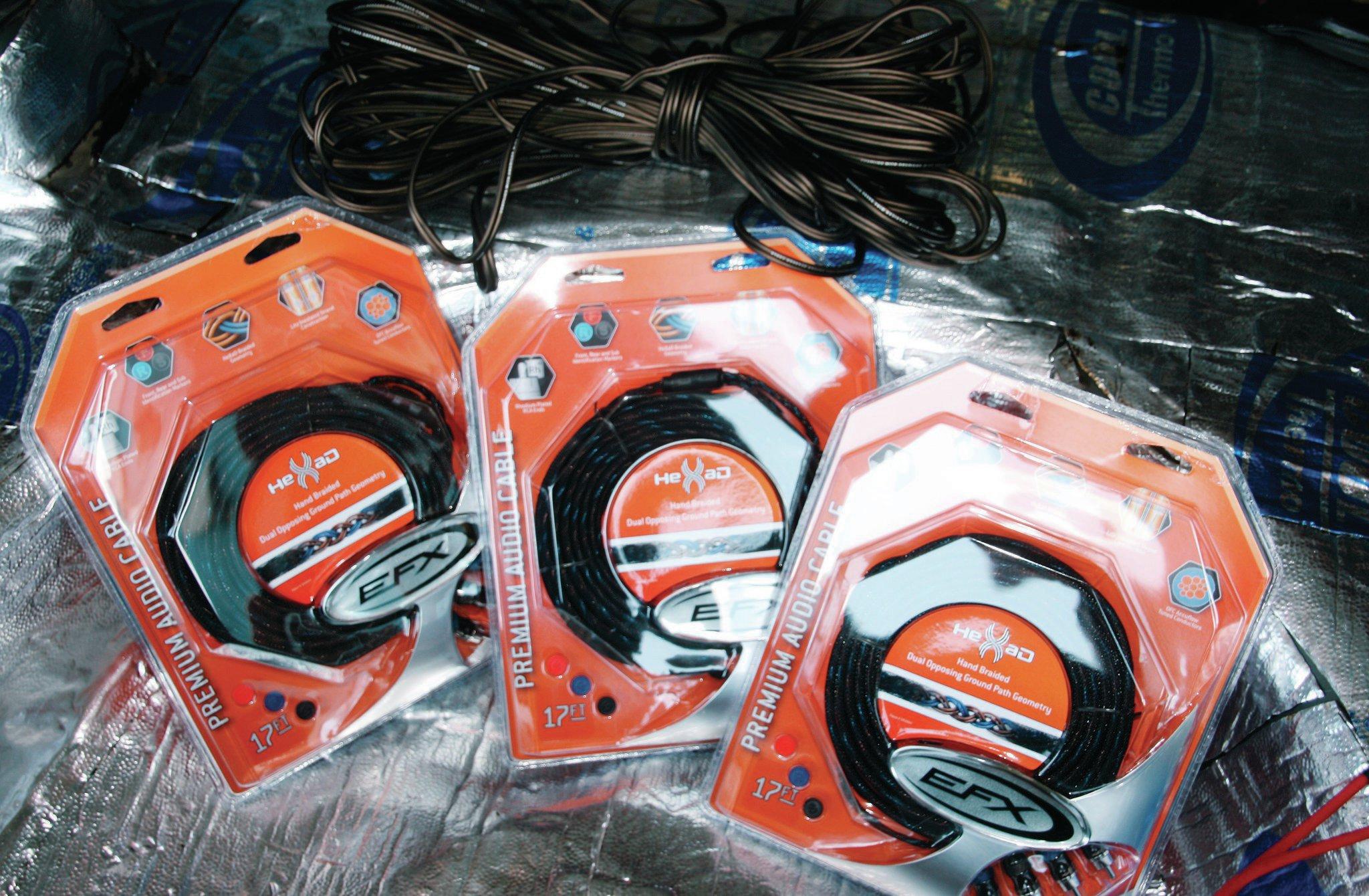 Scosche Efx Hexad Rca Speaker Wire