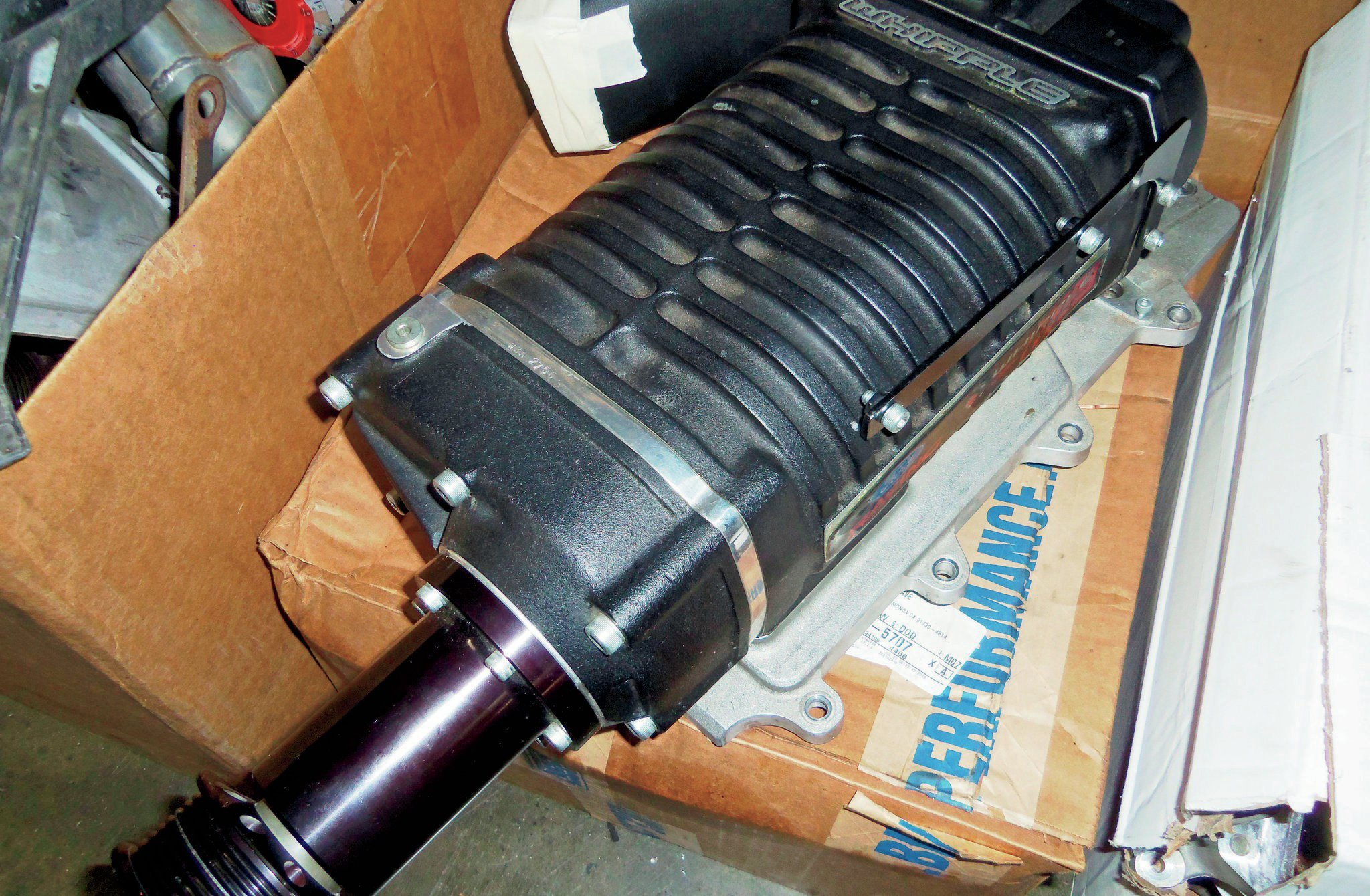 2 3 Whipple Twin Screw Supercharger