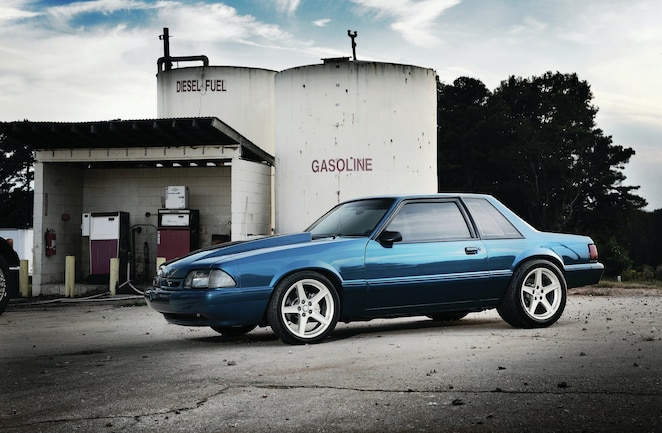 1993 Ford Mustang Lx Coupe Drivers Side View
