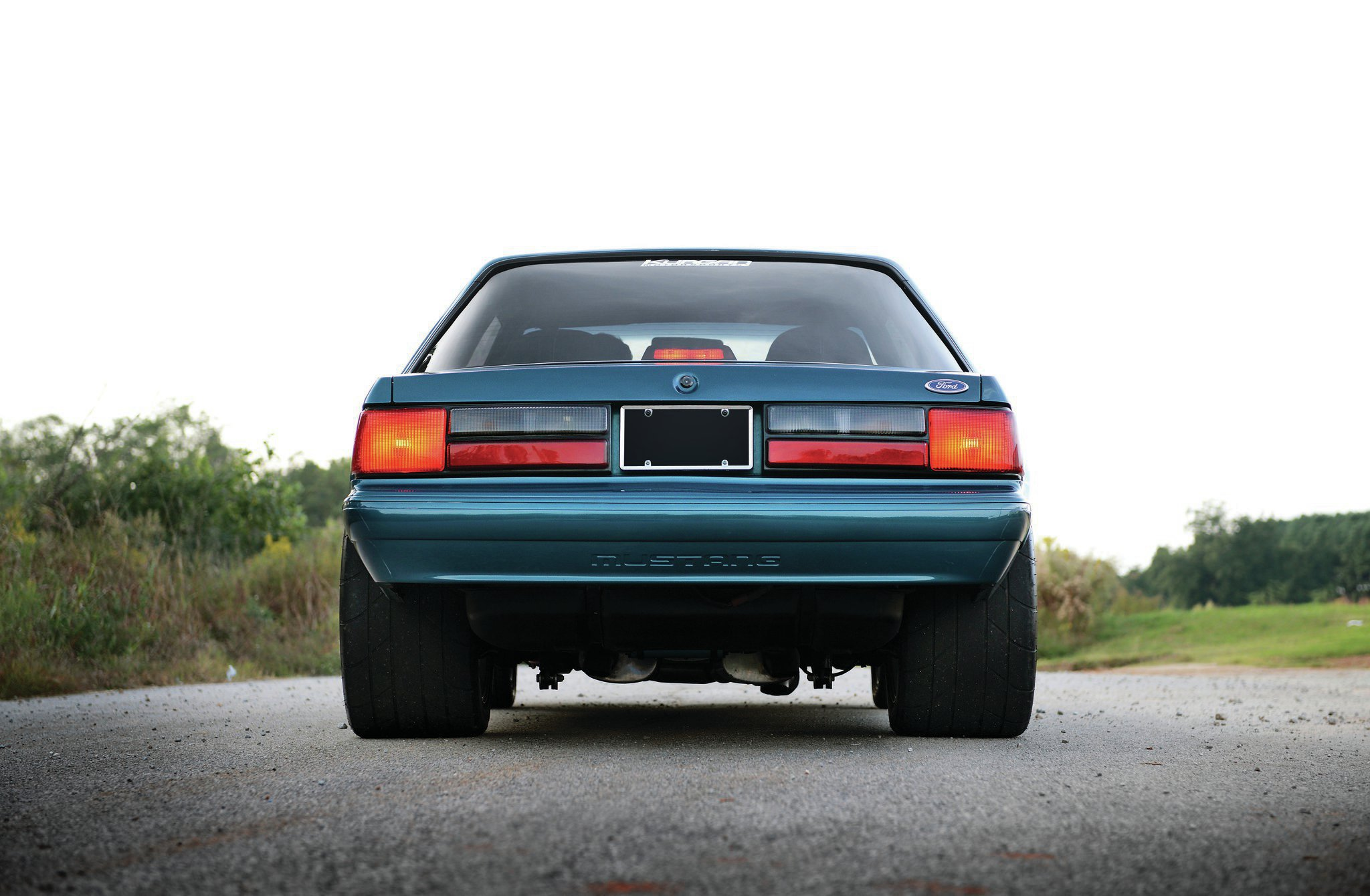 1993 Ford Mustang Lx Coupe Rear View
