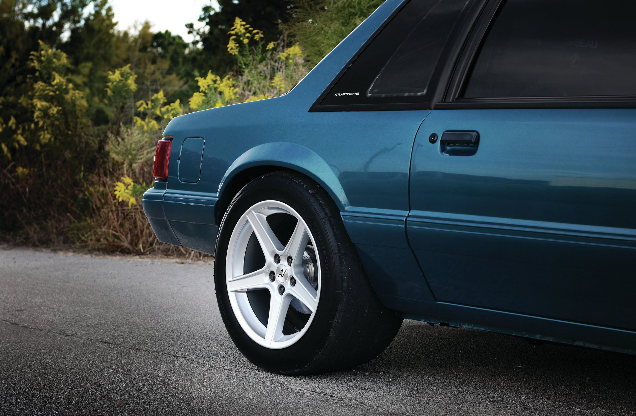 1993 Ford Mustang Lx Coupe Mickey Thompson Tire