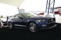 2015 Ford Blue Mustang