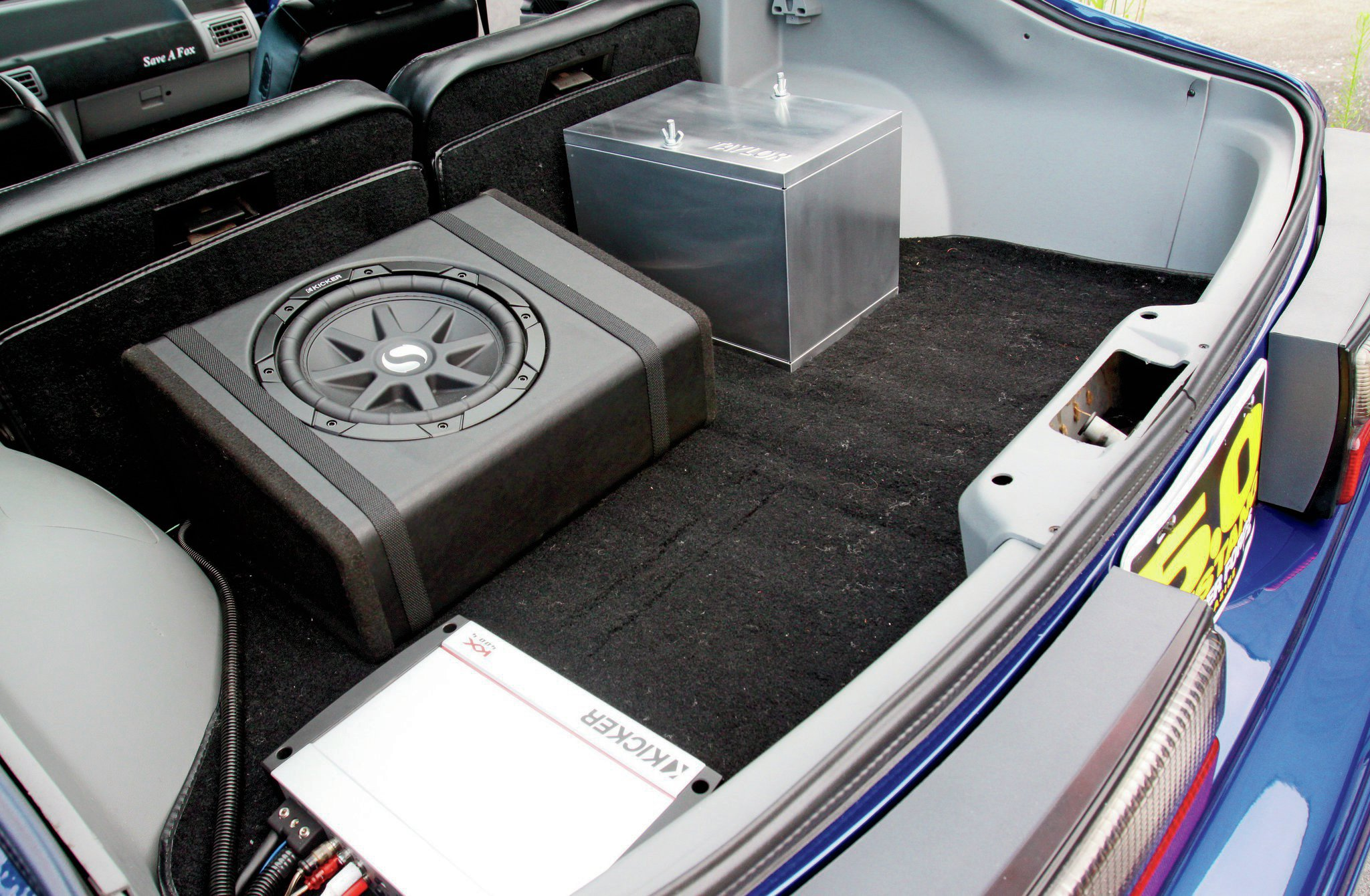 1989 Ford Mustang Lx Trunk