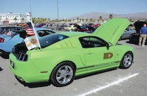 Green Ford Mustang Gt