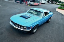 1970 Ford Mustang Front Side View