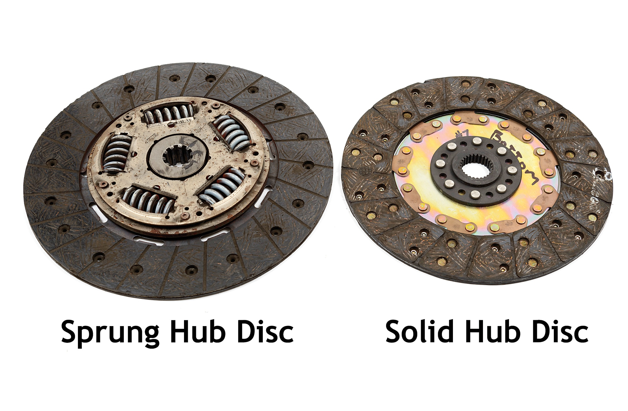 Sprung Hub Disc
