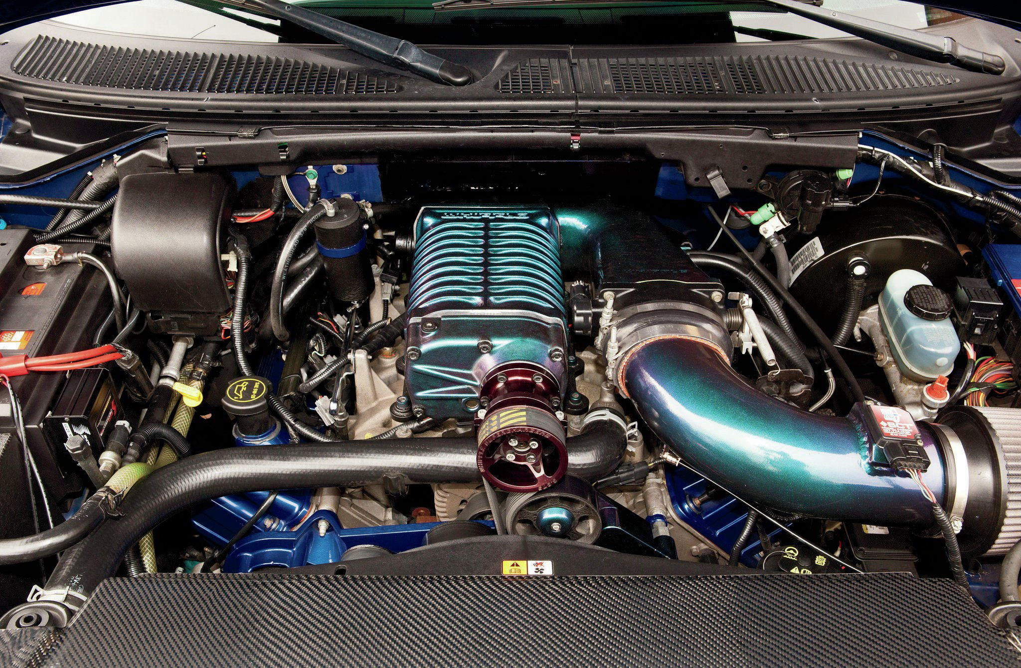 2003 Ford F 150 Engine View 2