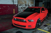 2014 Ford Mustang Side View