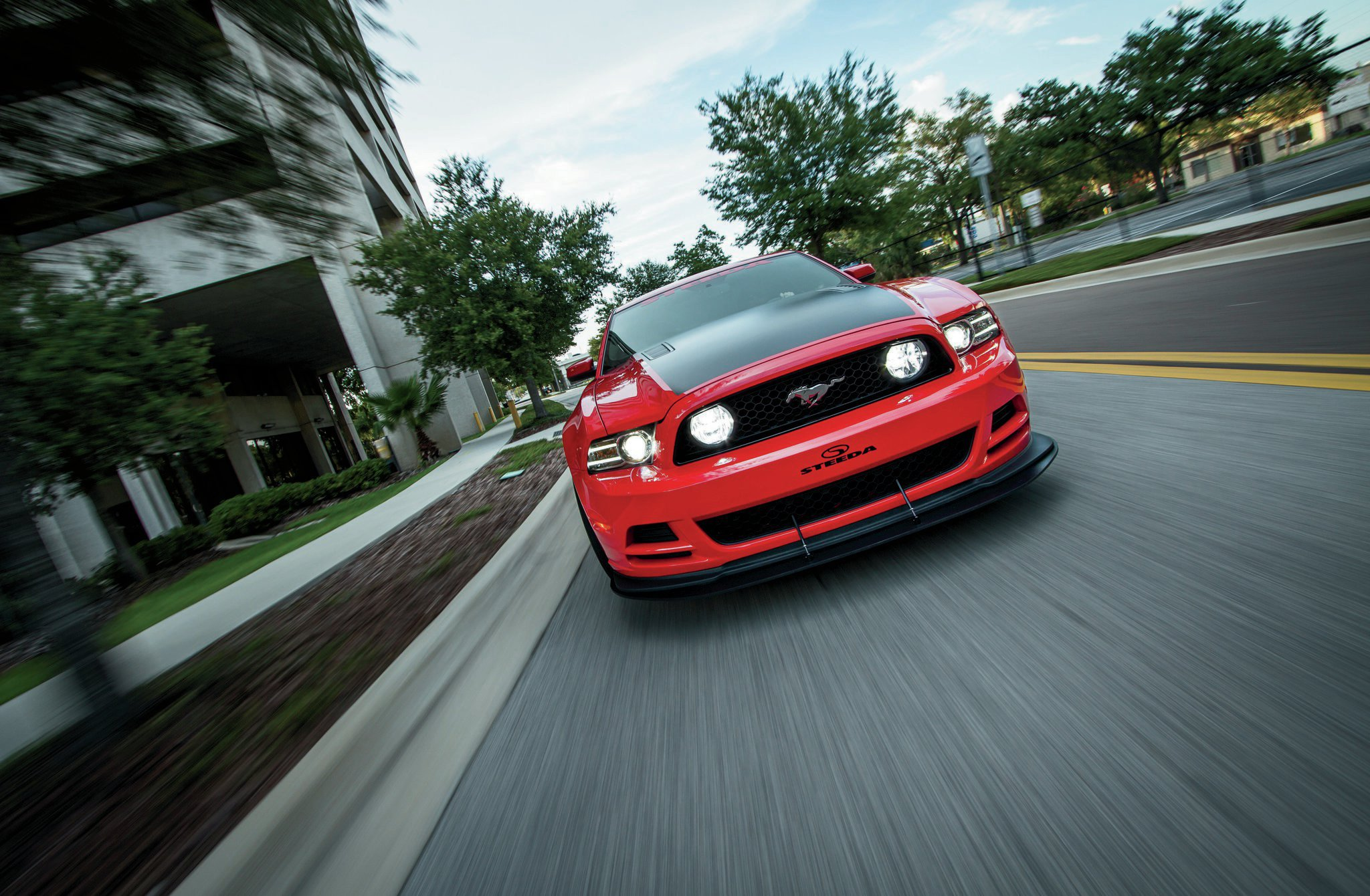 2014 Ford Mustang Front View