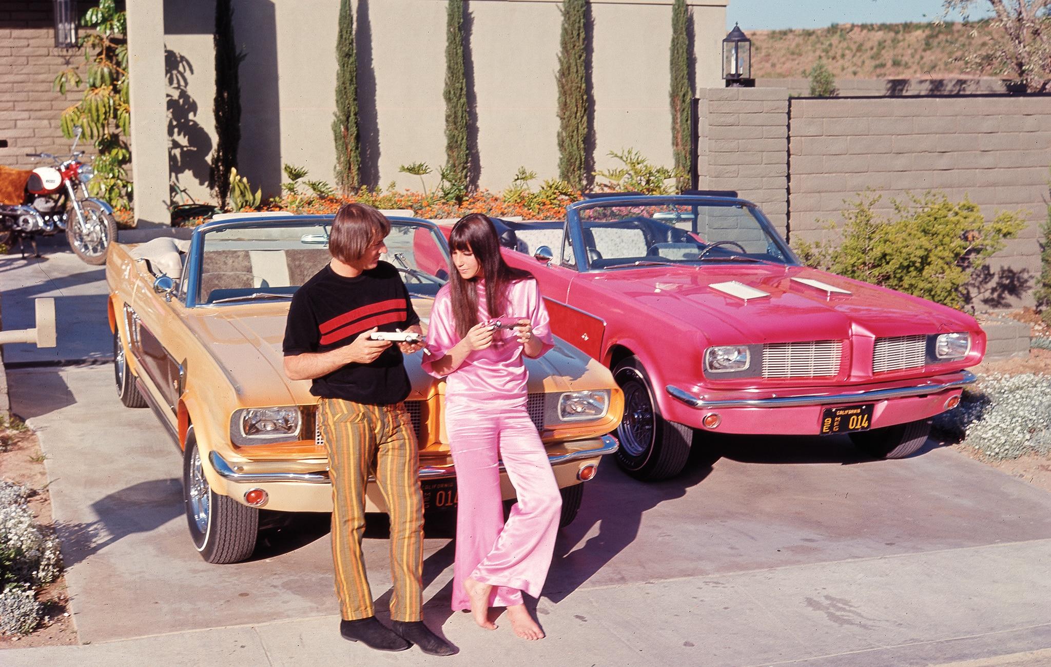 Sonny Cher Ford Mustangs