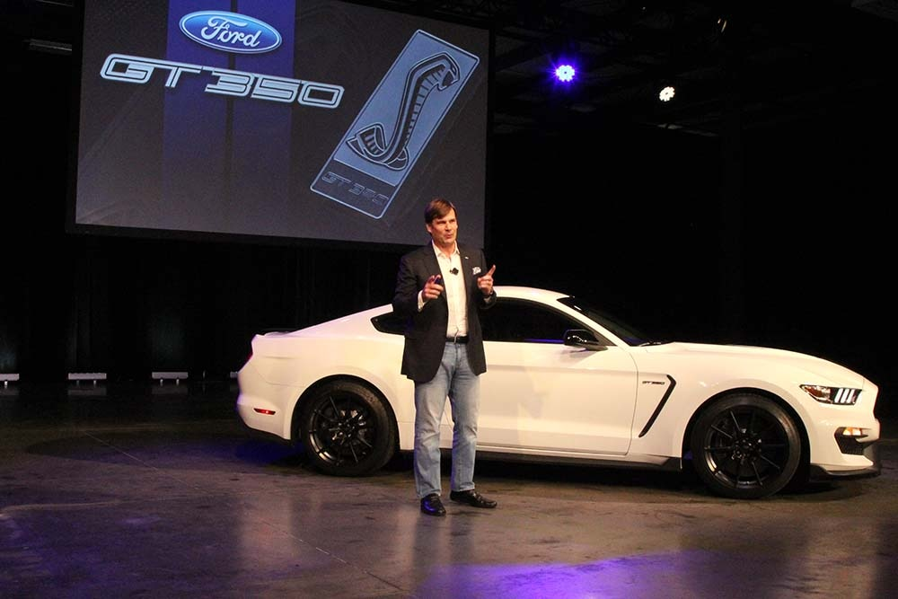Ford 2016 Shelby GT350 Unveiling Mustang 06
