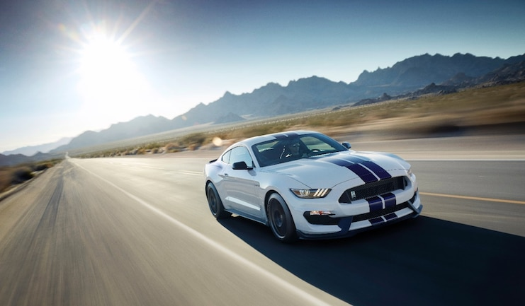 ShelbyGT350 In Motion
