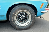 1970 Ford Mustang Front Wheel