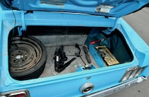 1970 Ford Mustang Trunk