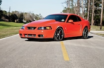 2004 Ford Mustang Cobra Front Side View