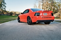 2004 Ford Mustang Cobra Side Rear View