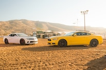2015 Ford Mustang With 2015 Chevrolet Camaro Ss 1le