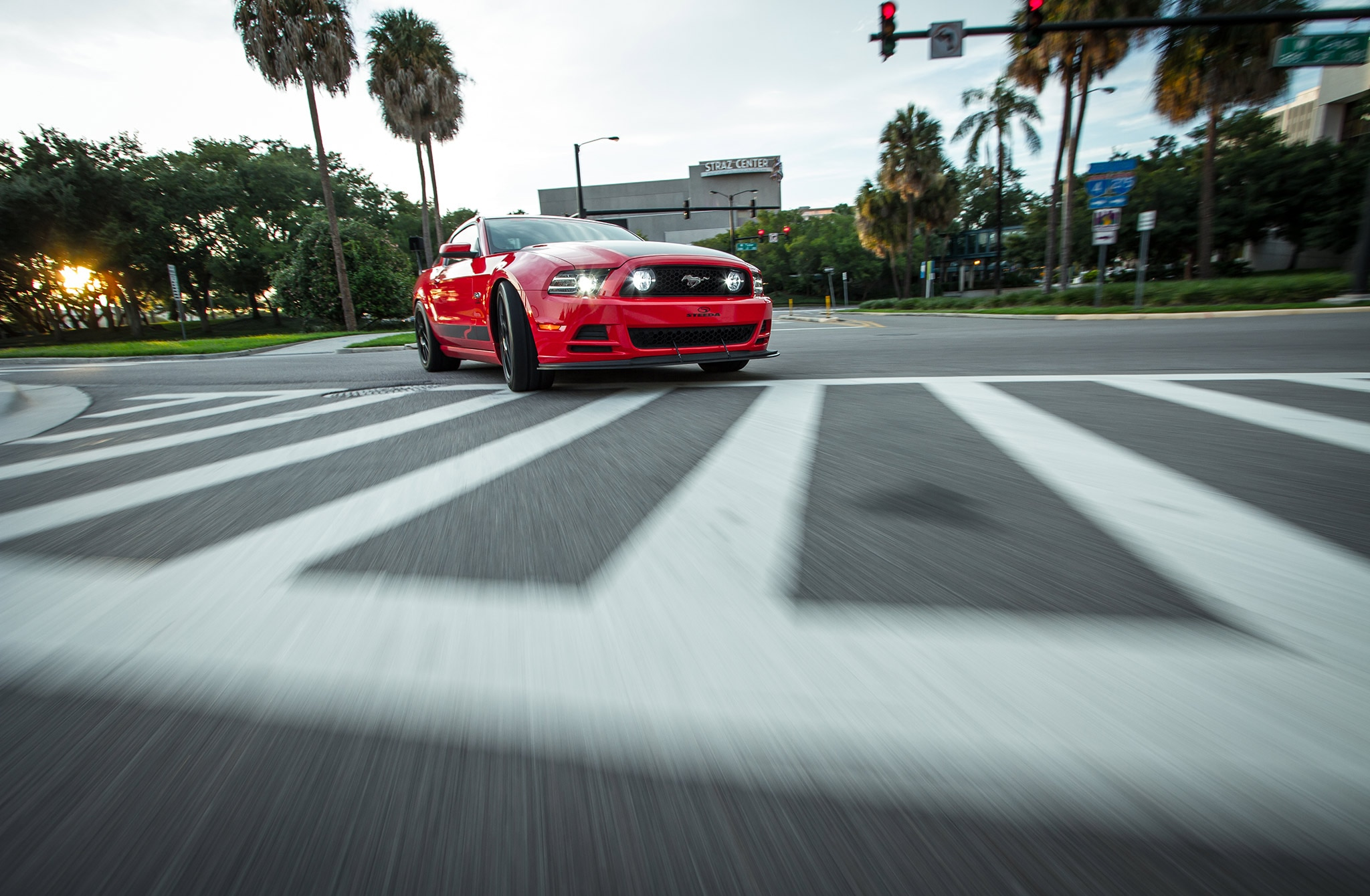 2014 Ford Mustang Steeda Red Q650 Street