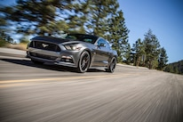 2015 Ford Mustang GT Front Three Quarter In Motion 02