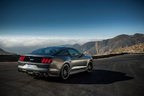 2015 Ford Mustang GT Rear Three Quarters 02