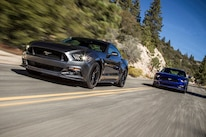 2015 Ford Mustang Front End In Motion
