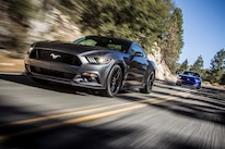 2015 Ford Mustang Front Three Quarter In Motion