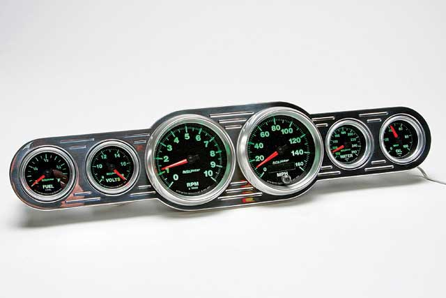 2007 SEMA New Products Auto Meter GS Gauge Series