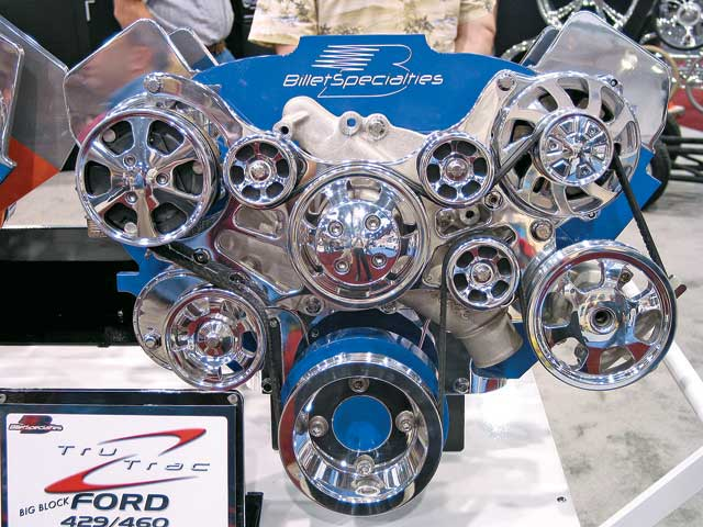 2007 SEMA New Products Billet Specialties 429 Ford Serpentine