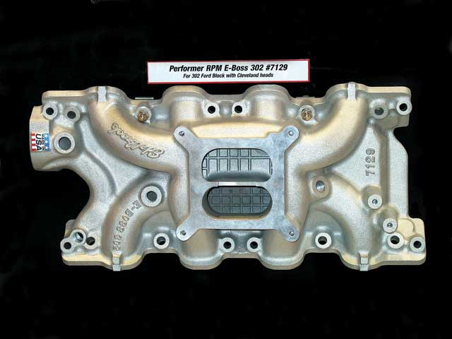 2007 SEMA New Products Edelbrock E Boss 302 Intake Manifold