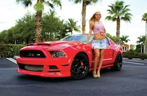 2013 Ford Mustang Front View Brittany Allen