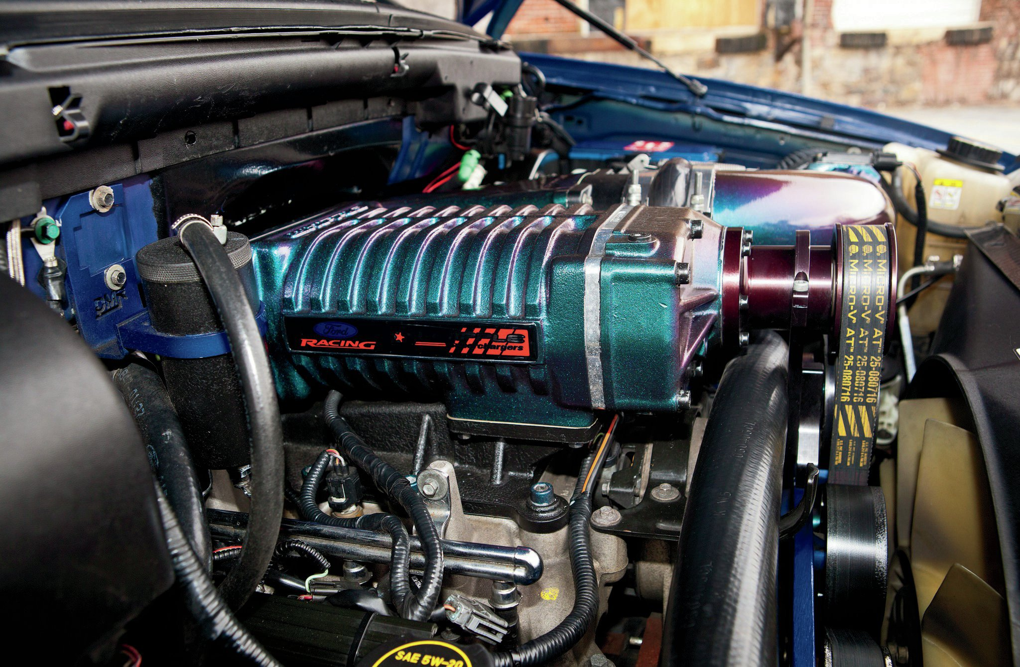 2003 Ford F 150 Engine View 1