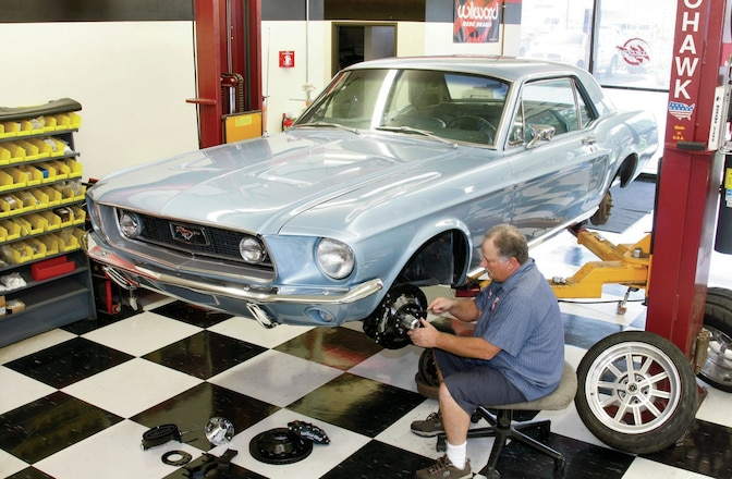 How to Install Wilwood's Four-Wheel Disc Brakes