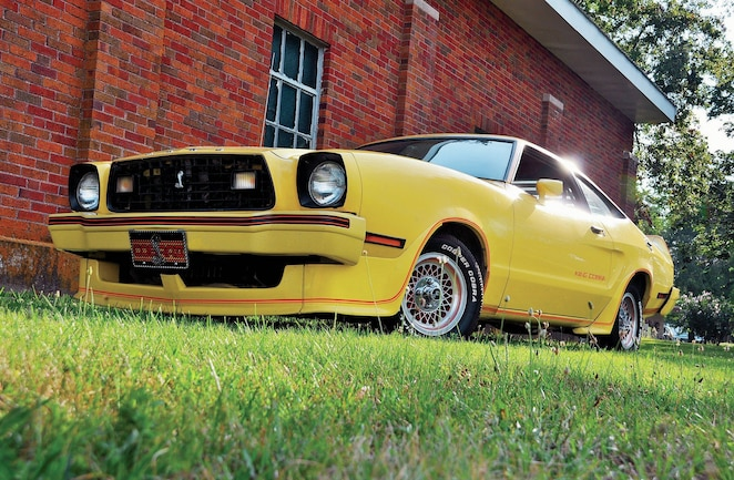 1978 Ford Mustang Front View Headlights