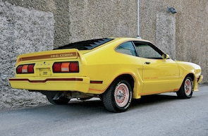 second generation ford mustang