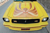 1978 Ford Mustang Hood Decal