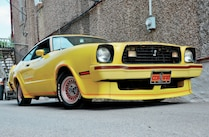 1978 Ford Mustang Front Side View