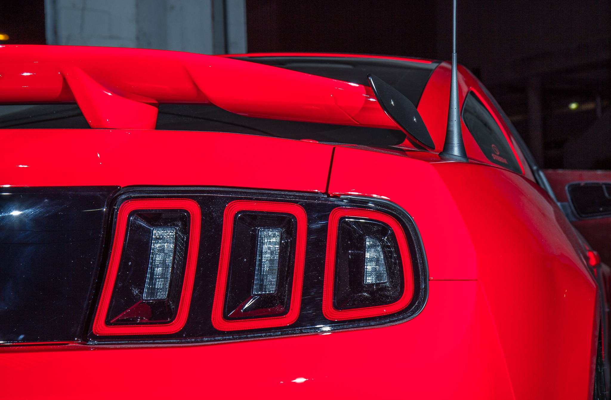 2014 Ford Mustang Steeda Red Q650 Rear Taillight