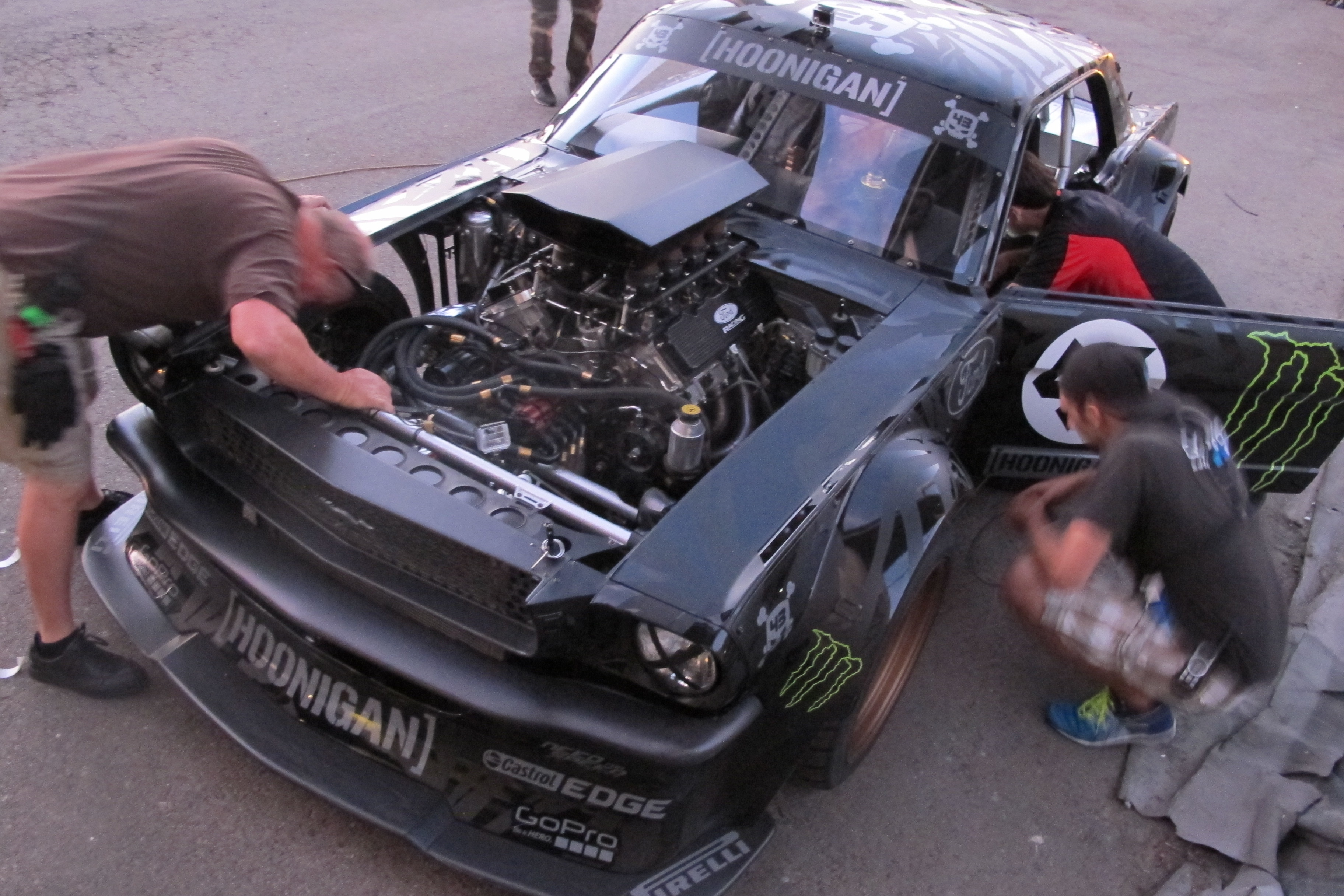 Ken Block Gymkhana 7 1965 Ford Mustang Behind The Scene 2