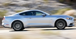 2015 Ford Mustang Side View